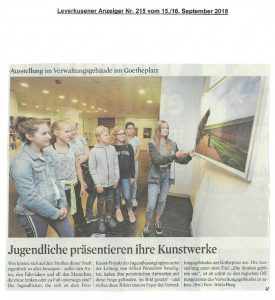 2018-09-15-KStA- Ausstellung Goetheplatz Die Straßen gehören uns