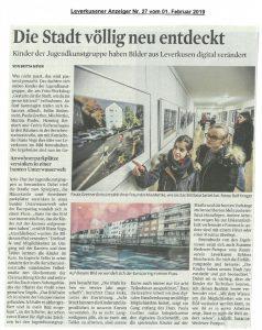 2019-02-01-KStA Die Stadt völlig neu entdeckt