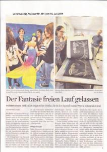 Leverkusener Anzeiger 15.07.2014