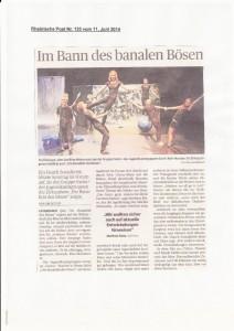 Rheinische Post 11.06.2014