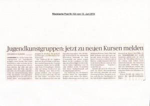 Rheinische Post 12.06.2014