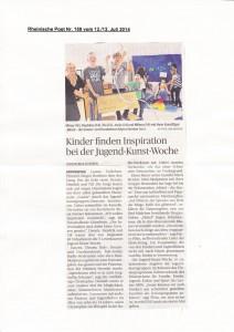 Rheinische Post 12.13. Juni 2014