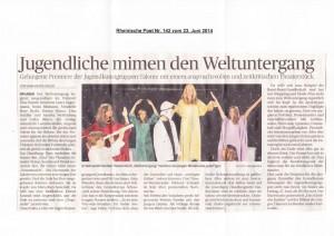 Rheinische Post 23.06.2014