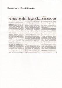 Rheinische Post 28.29. Juni 2014
