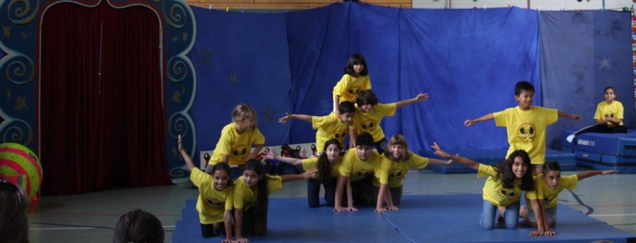 Circus Fantastico -gelbe T-Shirts-k